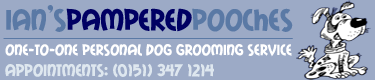 Pampered Pooches logo